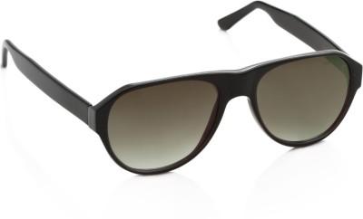 Miami Blues Oval Sunglasses