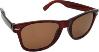 Reflect-Ray Wayfarer Sunglasses Brown