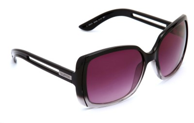 Valentino Valentino Rectangular Sunglasses (Black)
