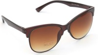 TheWhoop Stylish Brown Wayfarer Sunglasses