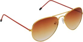 6by6 6by6 Black Round Women Sunglasses Aviator Sunglasses