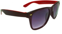 Goggy Poggy FW403-BLK-RED Wayfarer Sunglasses