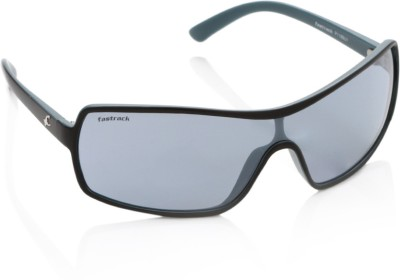 Fastrack Fastrack Wrap-Around Sunglasses (Blue)