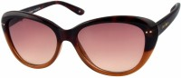 Joe Black Oval Sunglasses Brown