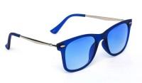 TheWhoop Limited Edition Flat Blue Wayfarer Sunglasses