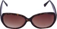 Miami Blues Oval Sunglasses Brown