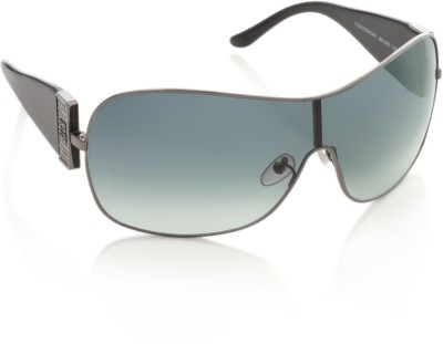 Givenchy Givenchy Wrap-Around Sunglasses (Blue)