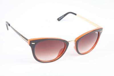 Image Image Cat-Eye Sunglasses (Black)