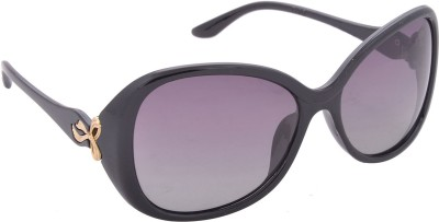 Iris Iris Eyewear Rectangular Sunglasses (Black)