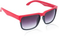 Glitters Fashionable Red Wayfarer Sunglasses