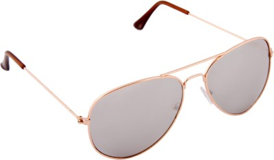 Aviator Lens9 Aviator Sunglasses (Black)