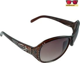 Polo House USA Exclusive Women's Sunglasses Oval Sunglasses