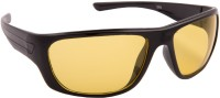 Black Sports/Wrap-around Sports/Wrap-around Sunglasses