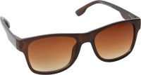 Afact Brown Wayfarer Sunglasses