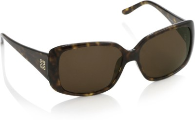 Givenchy Givenchy Over-Sized Sunglasses (Brown)