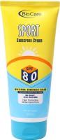 BioCare Sport Whitening Sunscreen Cream - SPF 80 PA++ (200 Ml)
