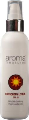 Aroma Treasures Sunscreen Lotion - SPF 20 - 100 Ml