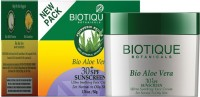 Biotique Bio Aloe Vera (30t SPF Sunscreen For Normal To Oily Skin In The Sun 50 Gm) - SPF 30 PA+ (50 G)