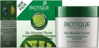 Biotique BIO Morning Nectar Flawless Lightening Eye Cream SPF- 30UVA/UVB- 15 GM - SPF 30 PA+ (15 G)