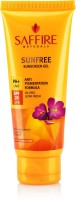 Saffire Saffire Sunfree SPF 20 Sunscreen Gel PA+ With Anti-Pigmentation Formula - SPF 20 PA+ (60 Ml)