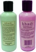 Khadi Herbal Moistrurizer & Sunscreen Lotion - SPF 50 PA+ (420 Ml)