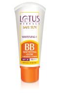 Lotus Safe Sun Whitening+ BB Mattifying Glow - SPF 30 PA+++ (20 G)
