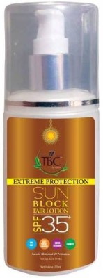TBC By Nature Sunscreen 35
