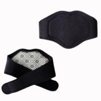 Vedic Deals Tourmaline Self Heating Neck Support Belt Neck Support (Free Size, Black)