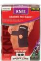 Mueller Adjustable Knee Support (Free Size, Black)