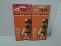 KT TAPE Pain Relief Back & Abdomen Support (Free Size, Beige)