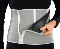 Vinto Weight Loss Belly Fat Burner And Waist Trimmer Zipper Style Adjustable 4 Levels Back & Abdomen Support (Free Size, Multicolor)