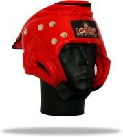 Lordz Taekwondo Head Guard Head Support (XL, Red)