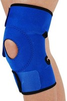 Jern Knee Pads Outdoor Sports Climbing Adjustable Velcro Knee Pad Knee Support (Free Size, Blue)