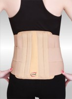 United Medicare Lumber Corset With Strap Back Support (XL, Beige)