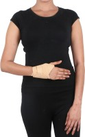 Orthosafe Wrist Brace/Binder With Thumb Wrist Support (Free Size, Beige)
