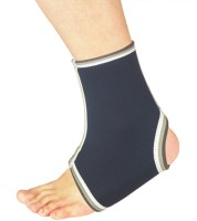Nivia Slip In Ankle Support (Free Size, Blue)