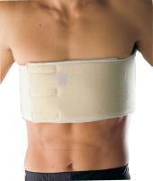 Zcare Pharma Rib Belt Back & Abdomen Support (Free Size, Beige)
