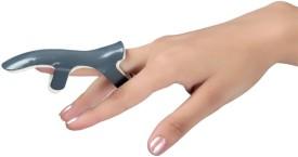 Modern Medical Aids Frog Splint Finger Support (L, Silver)