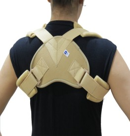Acco Clavicle Brace Shoulder Support (M, Beige)