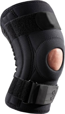 Zcare Pharma Open Patella With Hing Joint Knee Support (L, Black)