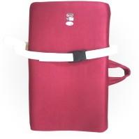 Vitane Perfekt Back Rest Cushion Lumbar Support (M, Maroon)