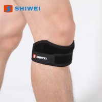 SPOFIT Shiwei1100032 Knee, Calf & Thigh Support (Free Size, Black)
