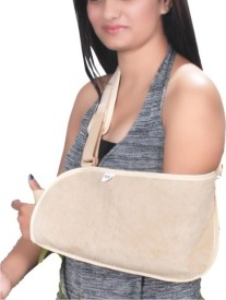 Grip's Arm Sling Pouch Head Support (L, Grey)