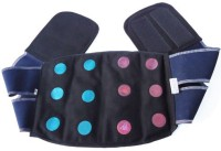 Acs Acupressure Back & Belly Belt 12 Magnet Back & Abdomen Support (Free Size, Black)