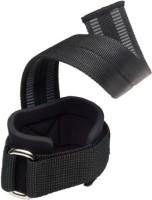 Harbinger Fitness Big Grip No-Slip Pro-Lifting Strap Wrist Support (Free Size, Black)