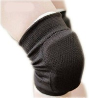 Vinto Advanced Padded 2 Pcs Set Knee, Calf & Thigh Support (Free Size, Black)
