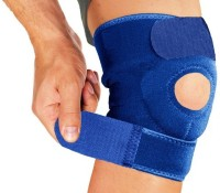 Vinto Advanced Fit PRO Knee, Calf & Thigh Support (Free Size, Blue)