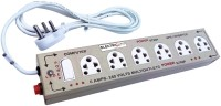 Electricless Power Extension 6 Wall Mount Surge Protector (Beige)