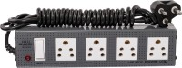 Girish Victor 6A Power Strip 1x4 4 Strip Surge Protector (Grey)