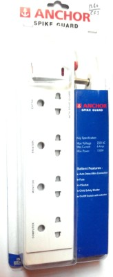 Anchor-4-Socket-Spike-Surge-Protector